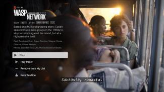 Wasp Network (2019) - Netflixin hieman parempaa tuotantoa