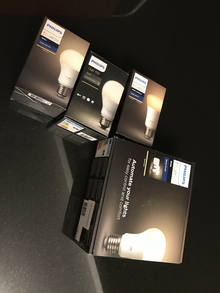 Philips Hue lamppuja